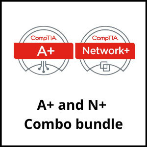 CompTIA A+ and N+ Combo bundle