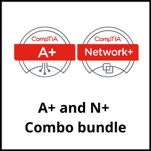 IT training coures - comptia a plus and network plus bundle - ASG