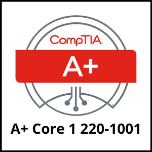 IT training coures - comptia a plus core 2-220 - 1001 - ASG