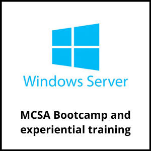 The MCSA Bootcamp and experiential training