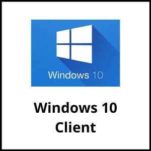 Windows 10 Client
